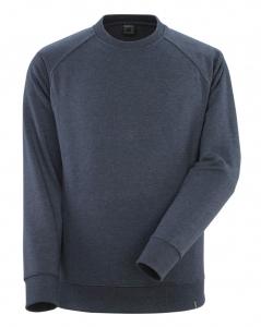 MASCOT-Sweatshirt, Tucson, CROSSOVER, 340 g/m², gew. dunkelblauer denim