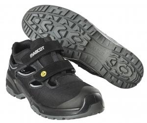 MASCOT-Sicherheitssandalen S1P, FOOTWEAR FLEX, schwarz/silber