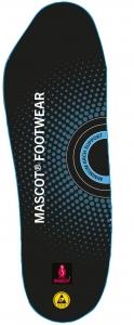 MASCOT-Einlegesohlen, FOOTWEAR, schwarz