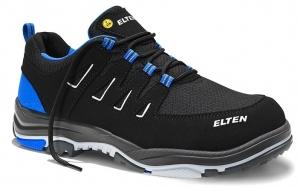ELTEN-S1P-ERGO-ACTIVE-Sicherheitshalbschuhe, WILLIAM Low, ESD, Fußtyp 2, blau