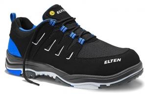 ELTEN-S1P-ERGO-ACTIVE-Sicherheitshalbschuhe, WILLIAM Low, ESD, Fußtyp 3, blau