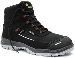 ELTEN-S3-ERGO-ACTIVE-Sicherheitshochschuhe, MATTHEW Pro GTX Mid , ESD, Fußtyp 2, schwarz