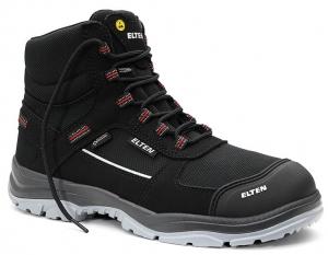 ELTEN-S3-ERGO-ACTIVE-Sicherheitshochschuhe, MATTHEW Pro GTX Mid , ESD, Fußtyp 3, schwarz