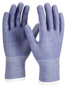 BIG-ATG-Schnittschutz-Strickhandschuhe, MaxiCut, blau