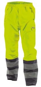DASSY-Warnschutz-Regen-Bundhose SOLA,   gelb/grau
