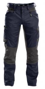 DASSY-Bundhose HELIX, dunkelblau/grau