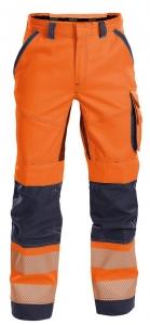 DASSY-Warnschutz-Bundhose ODESSA , orange/dunkelblau