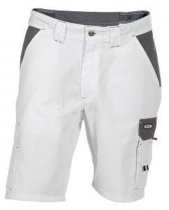 DASSY-Shorts ROMA, , weiß/grau