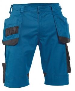 DASSY-Shorts BIONIC, kornblau/grau