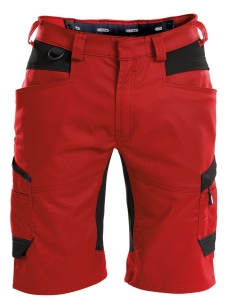 DASSY-Shorts AXIS, rot/schwarz