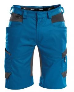 DASSY-Shorts AXIS, kornblau/grau