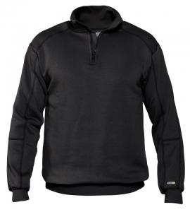 DASSY-Sweatshirt FELIX, schwarz
