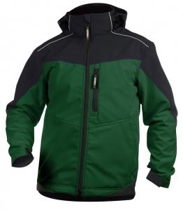 DASSY-Softshell-Jacke JAKARTA , grün/schwarz