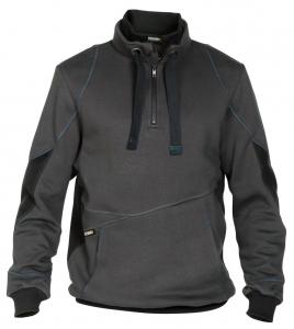 DASSY-Sweatshirt STELLAR, grau/schwarz