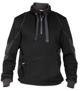 DASSY-Sweatshirt STELLAR, schwarz/grau