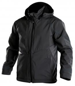DASSY-Softshell-Jacke GRAVITY,   schwarz/grau
