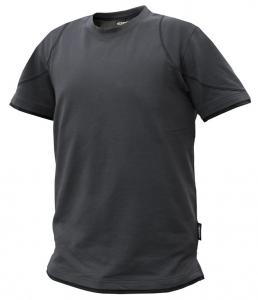 DASSY-T-Shirt KINETIC, grau/schwarz