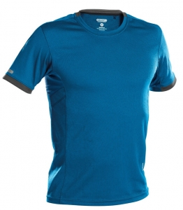 DASSY-Poloshirt NEXUS, kornblau/grau