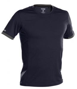 DASSY-Poloshirt NEXUS, dunkelblau/grau