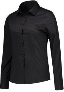 TRICORP-Arbeits-Berufs-Bluse, Stretch, Slim Fit, 110 g/m², black
