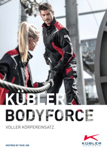 Kübler<br/><strong>BODYFORCE</strong><br/>2019/20 Logo