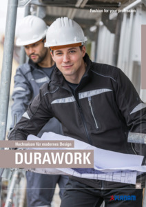 Planam<br/><strong>Durawork</strong><br/>2019 Katalog