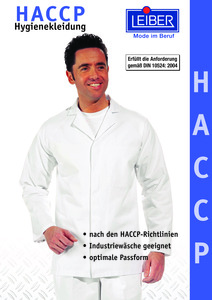 Leiber<br/><strong>HACCP Hygienekleidung</strong><br/>2018/20 Logo