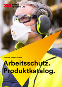 3M<br/><strong>Arbeitsschutz<br/></strong>2017/19 Katalog